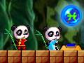 Гра пригоди двох панд онлайн